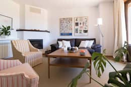 Livings de estilo escandinavo por Become a Home