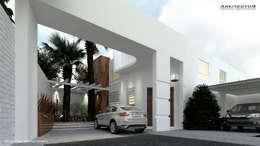 CASA MAGALLANES: Casas de estilo moderno por arkitecto9.com