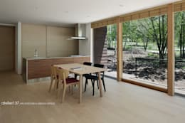 scandinavian Dining room by atelier137 ARCHITECTURAL DESIGN OFFICE