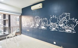 calvin and hobbes artwork:  Artwork by iSTUDIO Architecture