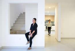 Projekty,  Jadalnia zaprojektowane przez Región 4 Arquitectura
