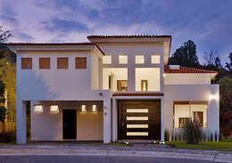 fachada casas de estilo colonial por excelencia en diseo - Fotos De Fachadas De Casas