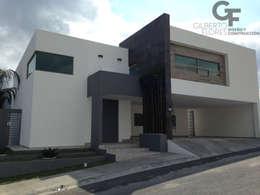 modern Houses by GF ARQUITECTOS