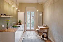 Cozinhas industriais por Birgit Glatzel Architektin