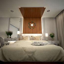 Dormitorios de estilo moderno de PROYECTARQ | ARQUITECTOS