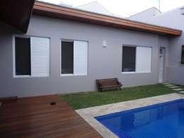Cuartos de estilo moderno por canatelli arquitetura e design