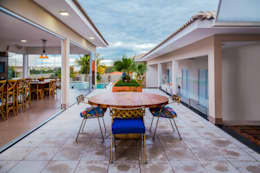 Terrazas de estilo  por Daniele Galante Arquitetura