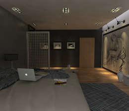 Dormitorios de estilo  por hole