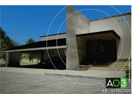 Residencia Rodriguez: Casas de estilo moderno por AQ3 Arquitectos