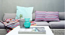Terrazas de estilo  por Severine Piller Design