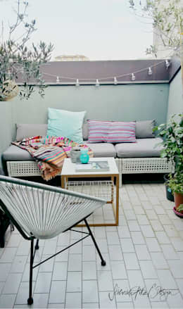 Terrasse von Severine Piller Design