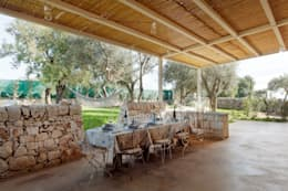 country Dining room by BB Architettura del Paesaggio