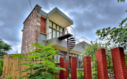 Villa Aaranyak: modern Houses by prarthit shah architects