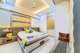 Bedroom: eclectic Bedroom by Saar Interior Design