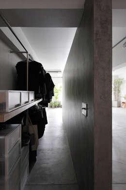 MORTAR POT: nuリノベーションが手掛けた廊下 & 玄関です。