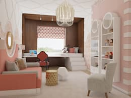 eclectic Nursery/kid's room by homify