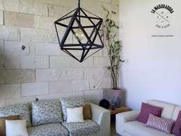modern Living room by La Maquiladora / taller de ideas