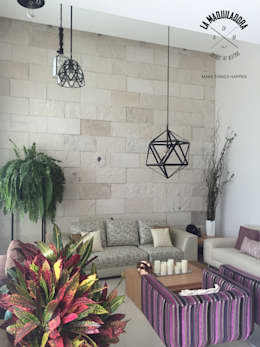 modern Living room by La Maquiladora / taller de ideas