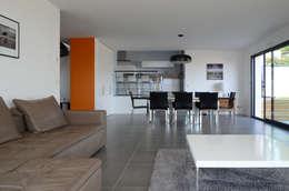 Projekty,  Salon zaprojektowane przez Pierre Bernard Création