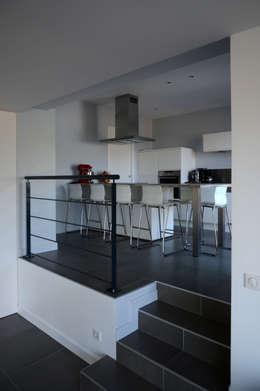 Projekty,  Kuchnia zaprojektowane przez Pierre Bernard Création