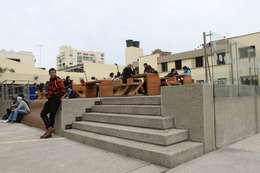 Plaza central PUJ: Espacios comerciales de estilo  por Heritage Design Group