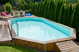 modern Pool by OOGarden