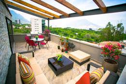 Terrazas  de estilo  por ICAZBALCETA Arquitectura y Diseño