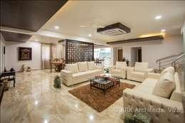 Hirawats House:  Corridor & hallway by ARK Architects & Interior Designers
