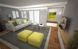 modern Living room by Areabranca