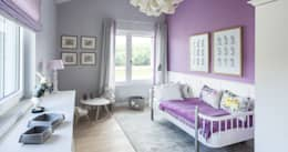 modern Nursery/kid's room by Bau-Fritz GmbH & Co. KG