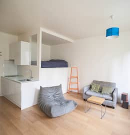 modern Bedroom by Olivier Olindo Architecte