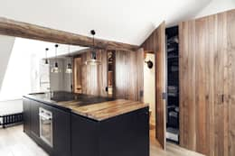 Cocinas de estilo industrial por Design for Love