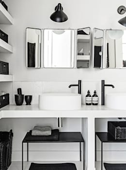 scandinavian Bathroom by Design for Love