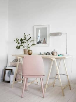 scandinavian Study/office by Design for Love