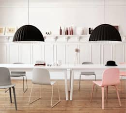 scandinavian Dining room by Design for Love