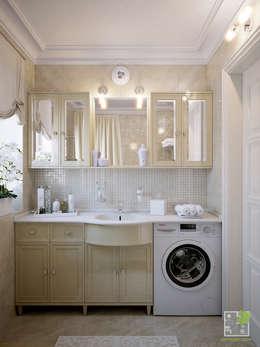 klassische Badezimmer von Елена Марченко