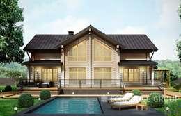 Casas de estilo  por EcoHouse Group