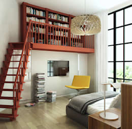 Квартира в Геленджике: Спальни в . Автор – Porterouge Interiors \ Krasnye Vorota