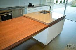 Cocinas de estilo minimalista por PFS-arquitectura
