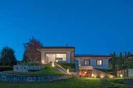 VILLA PS: Case in stile in stile Moderno di Studio Associato Casiraghi