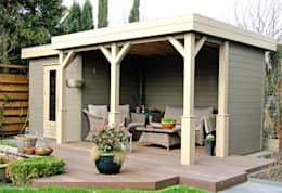 Prima Capri Gazebo: modern Garden by Garden Affairs Ltd