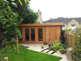 Рабочие кабинеты в . Автор – Garden Affairs Ltd