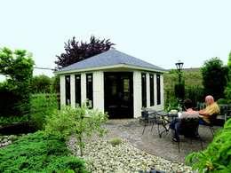 Garden Affairs Ltd: modern tarz Çalışma Odası
