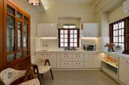 مطبخ تنفيذ Aum Architects