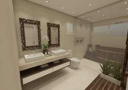 حمام تنفيذ Vitral Studio Arquitetura