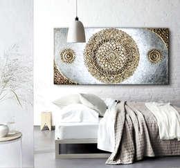 Chambre de style de style eclectique par ESTUDIO DELIER
