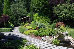 Jardines de estilo rural por dirlenbach - garten mit stil