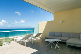 Terraza Isla Margarita: Terrazas de estilo  por THE muebles