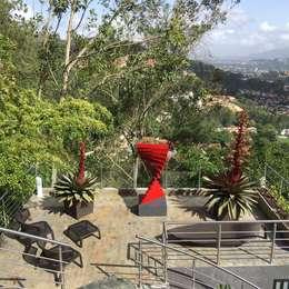 Terraza El Hatillo: Terrazas de estilo  por THE muebles