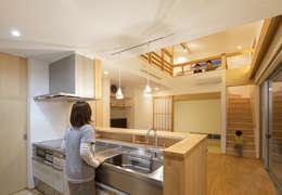Bonbonniere: 田村の小さな設計事務所が手掛けたキッチンです。